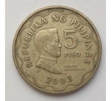 Филиппины 5 писо 2003