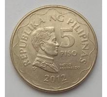 Филиппины 5 писо 2012