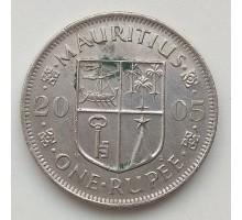 Маврикий 1 рупия 2005