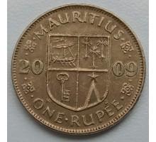 Маврикий 1 рупия 2009