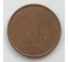 Нидерланды 1 цент 1961