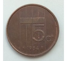 Нидерланды 5 центов 1984