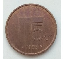 Нидерланды 5 центов 1993