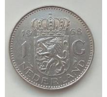Нидерланды 1 гульден 1968