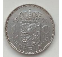 Нидерланды 1 гульден 1971