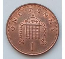 Великобритания 1 пенни 2007