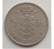 Бельгия 5 франков 1950 Belgique
