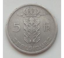 Бельгия 5 франков 1958 Belgique