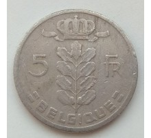 Бельгия 5 франков 1963 Belgique