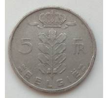 Бельгия 5 франков 1949 Belgie