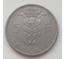 Бельгия 5 франков 1950 Belgie