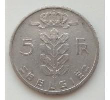 Бельгия 5 франков 1965 Belgie