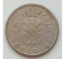 Бельгия 5 франков 1969 Belgie