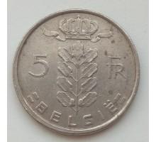 Бельгия 5 франков 1974 Belgie