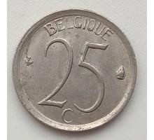 Бельгия 25 сантимов 1964 Belgique