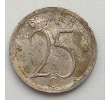 Бельгия 25 сантимов 1968 Belgique