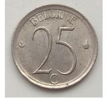 Бельгия 25 сантимов 1974 Belgique