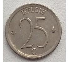 Бельгия 25 сантимов 1968 Belgie