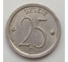 Бельгия 25 сантимов 1971 Belgie