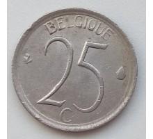 Бельгия 25 сантимов 1965 Belgique