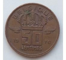 Бельгия 50 сантимов 1970 Belgique