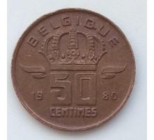 Бельгия 50 сантимов 1980 Belgique