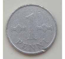 Финляндия 1 пенни 1970