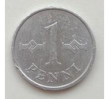 Финляндия 1 пенни 1975