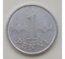 Финляндия 1 пенни 1972