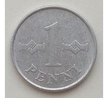 Финляндия 1 пенни 1977
