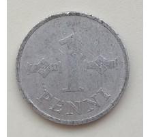 Финляндия 1 пенни 1973