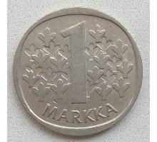 Финляндия 1 марка 1988