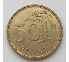 Финляндия 50 пенни 1985