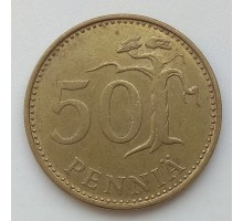 Финляндия 50 пенни 1982