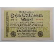 Германия 10000000 марок 1923