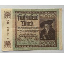 Германия 5000 марок 1922