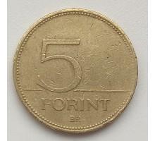 Венгрия 5 форинтов 1999