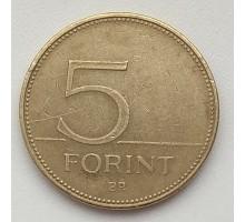Венгрия 5 форинтов 2000