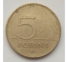 Венгрия 5 форинтов 2007
