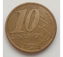 Бразилия 10 сентаво 2005