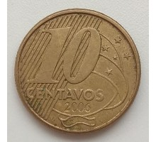 Бразилия 10 сентаво 2006