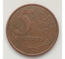Бразилия 5 сентаво 2003