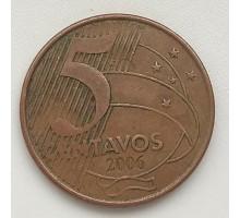 Бразилия 5 сентаво 2006