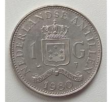 Нидерландские Антильские острова 1 гульден 1970-1980