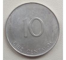 Куба 10 сентаво 1988