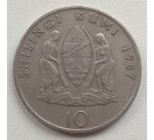 Танзания 10 шиллингов 1987-1989