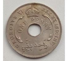 Британская Западная Африка 1 пенни 1944