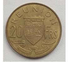 Реюньон 20 франков 1955-1964