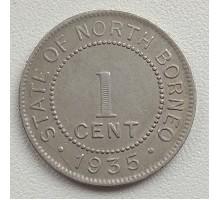 Северное Борнео 1 цент 1935