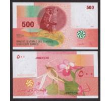 Коморские острова 500 франков 2006